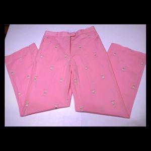 🌸🏌🏼♀️Lilly Pulitzer Pink Golf Khakis 🏌🏼♀️🌸
